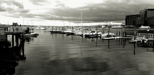 The Boats of Boston Harbour