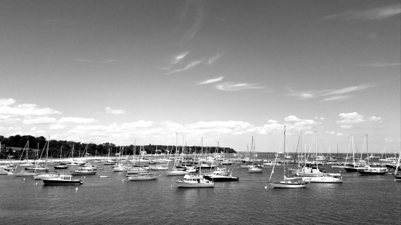 Boats in the bay. Cape Cod, MA
