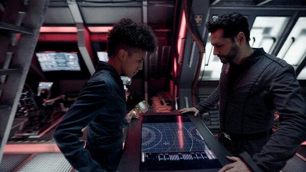 the expanse syfy Alex and Naomi get the IFF