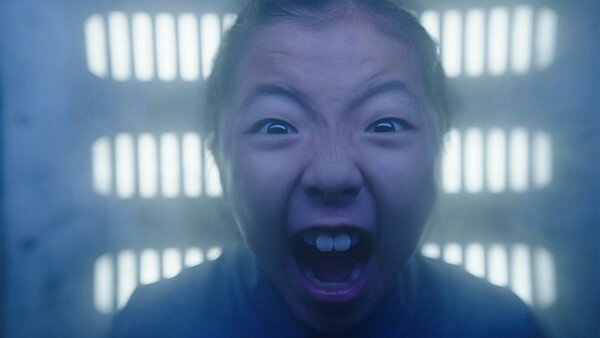 the expanse syfy Mei wakes from a bad dream